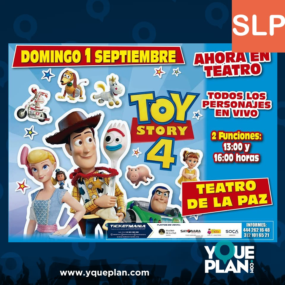 Toy Story y sus personajes