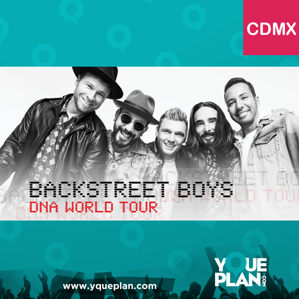 Backstreet Boys DNA World Tour / CDMX