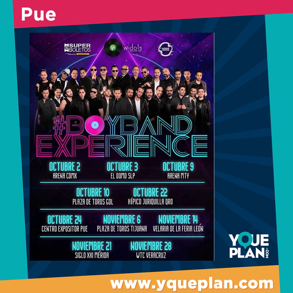 Boy Band Experience / Pue