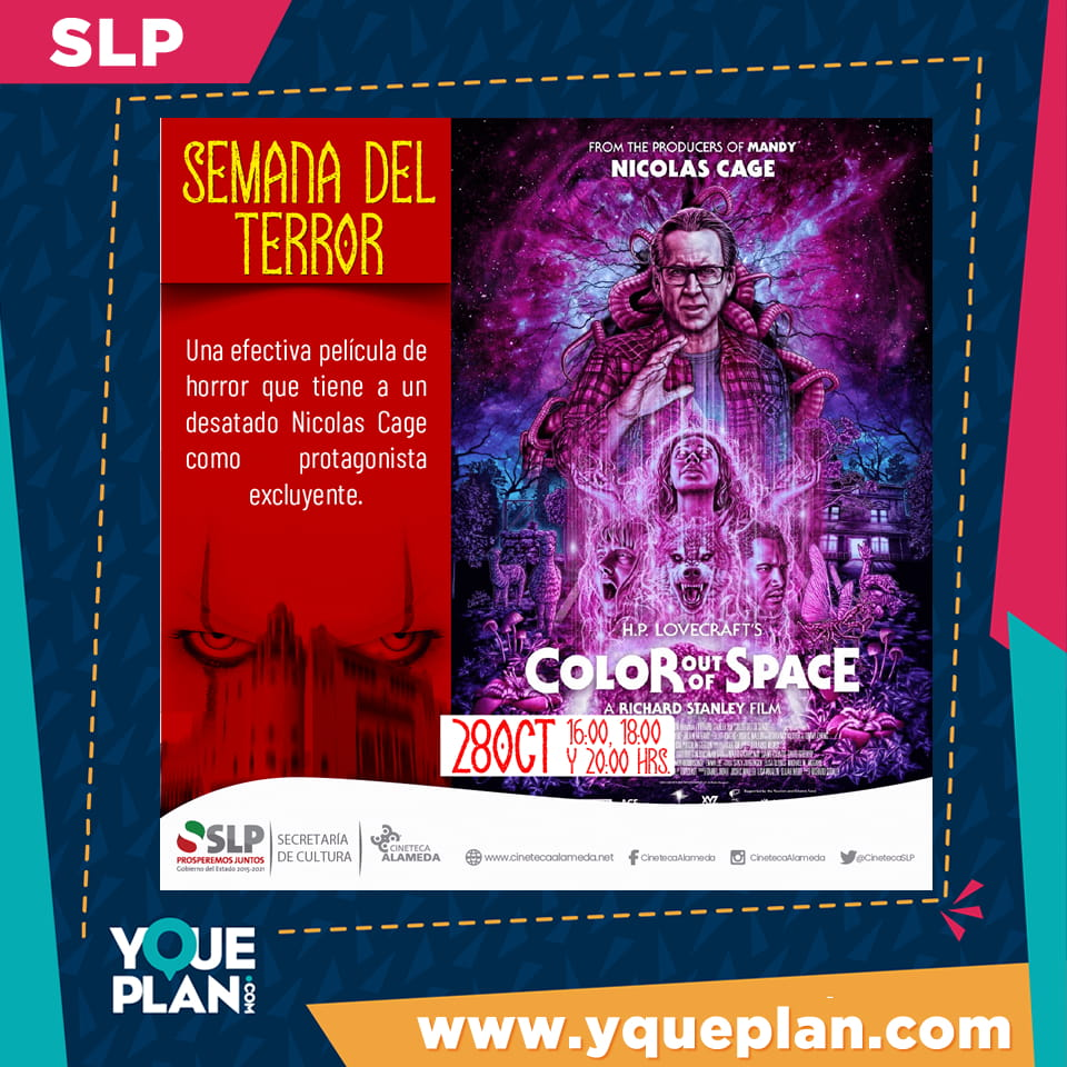 Color Out of Space, Semana del Terror
