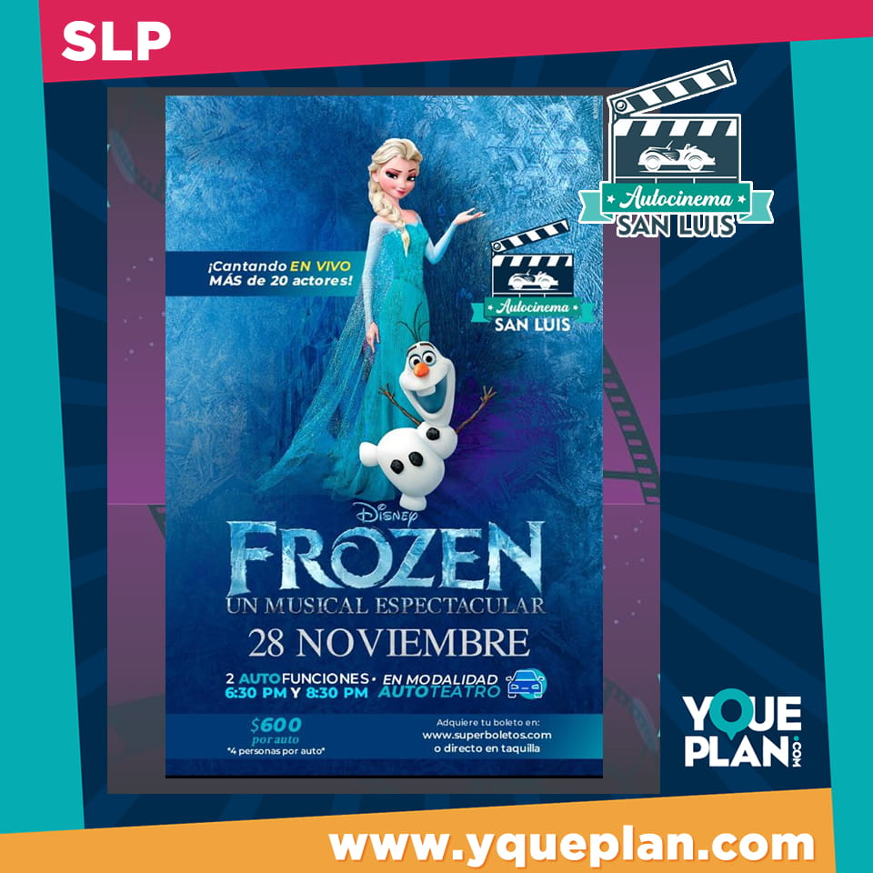 Frozen, un musical espectacular